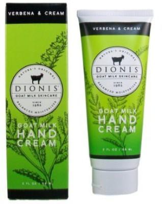 Dionis Goat Milk Skincare - Hand Cream Verbena & Cream