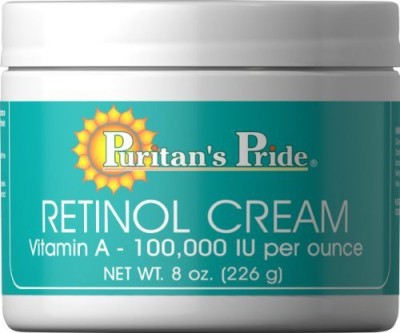 Puritan's Pride Retinol Cream (Vitamin A 100,000 IU Per )- Cream