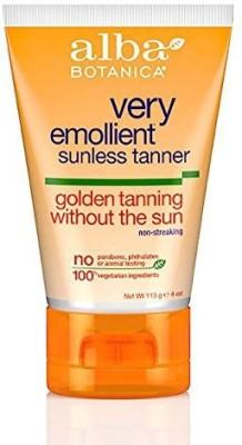 Alba Botanica sunless golden tanning lotion -- 4 fl oz