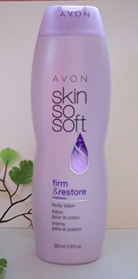 Avon Skin So Soft Firm & Restore +babassu Body Lotion