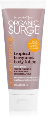 Organic Surge Tropical Bergamot Body Lotion