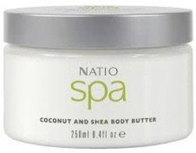 Natio SPA COCONUT AND SHEA BODY BUTTER,