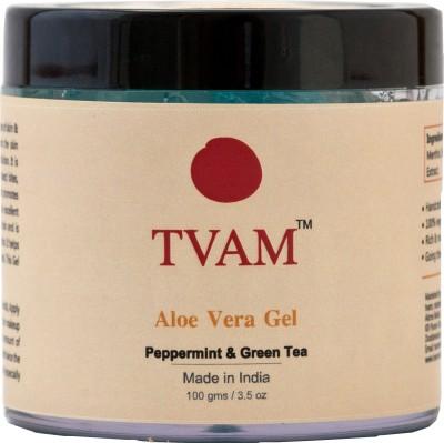 TVAM Aloe Vera Gel Peppermint & Green Tea