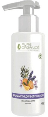 Pure Organics Radiance Glow Body Lotion