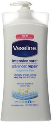 Vaseline Advanced Repair Fragrance Free