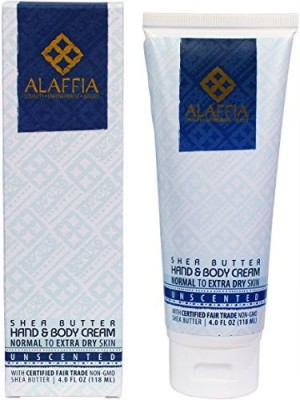 Alaffia Shea Butter Hand & Body Cream, Unscented