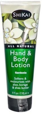 ShiKai All Natural Hand And Body Lotion Gardenia -