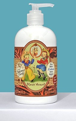 Dolce Mia Horsin, Around Sweet Almond Shea Butter Lotion With Organic Botanicals
