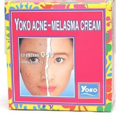 Yoko Ance-Melasma Whitening Cream CQ10, Herbal Extract
