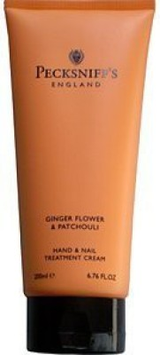 Pecksniffs Ginger Flower & Patchouli Hand & Nail Treatment Cream Fl. From England