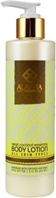 Alaffia virgin coconut hydrating body lotion