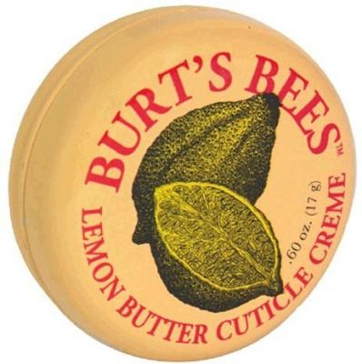 Burts Bees Lemon Butter Cuticle Creme, - Tin (Pack of 3)