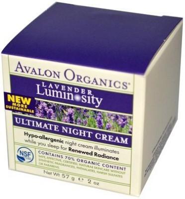 Avalon Organics Lavender Luminosity Ultimate Moisture Night Cream