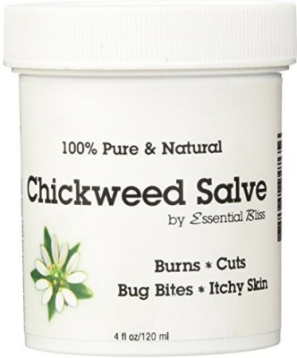 Essential Bliss Chickweed Salve * 100% Pure