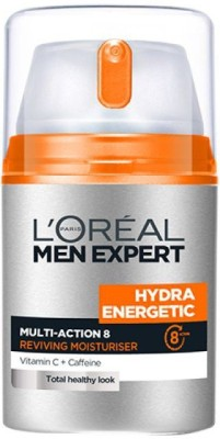 L,Oreal Paris Men Experts Hydra Energetic Multi Action 8 with Vitamin C & Caffeine