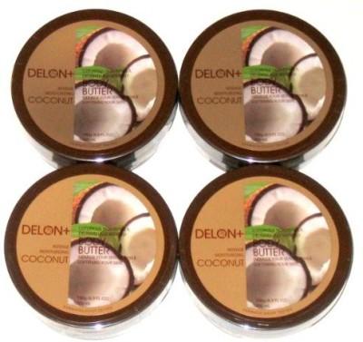 Delon+ DELON Intense Moisturizing Coconut Body Butter (4-pack)