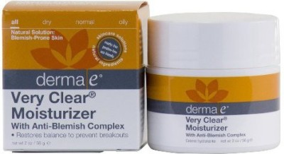 Derma E Very Clear Problem Skin Moisturizer, (56G) Pack