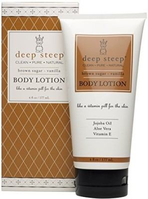 Deep Steep Body Lotion, Brown Sugar Vanilla