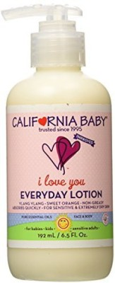 California Baby Everyday Lotion with Pump - I Love You