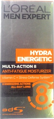 L ,Oreal Paris Multi-action 8 Anti-Fatigue Moisturizer