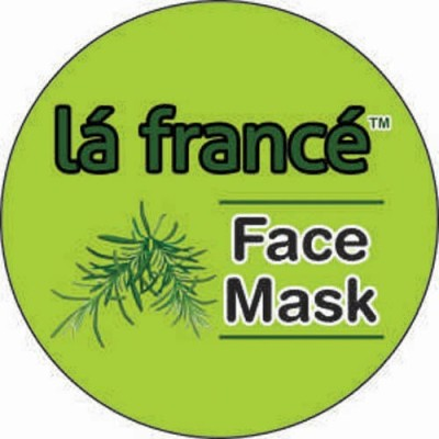 La France Chocolate Face Mask
