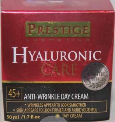 Prestige Cosmetics Hyaluronic Care Anti-Wrinkle Day Cream 45+