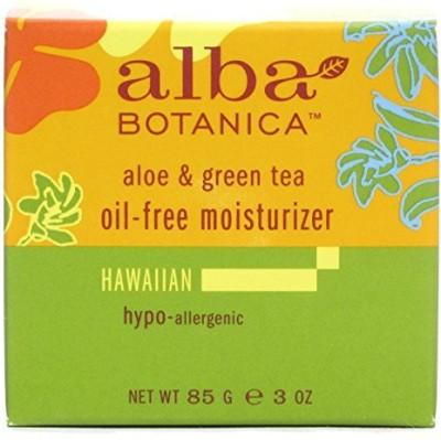 Alba Botanica Natural Hawaiian Oil-Free Moisturizer Aloe & Green Tea