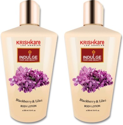 Krishkare Blackberry and Lilac Body Lotion