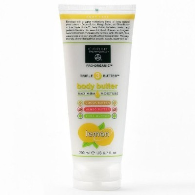 Earth Therapeutics Body Butter Maximum Moisture Lemon
