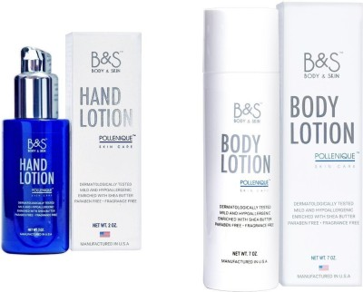 B&S Combo of Hand & Body Lotion