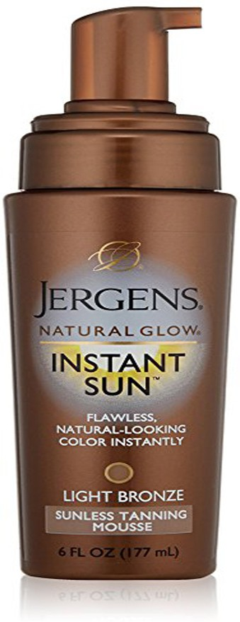 Jergens Sunless Tanning Mousse(177 ml)