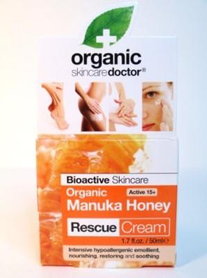 Dr Organic Manuka Honey Rescue Cream Bioactive Skincare