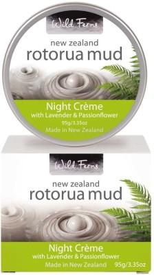 Wild Ferns Rotorua Mud Night Creme with Lavender & Passionflower