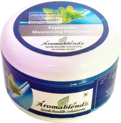 Aromablendz Moisturizing Peppermint Foot Cream