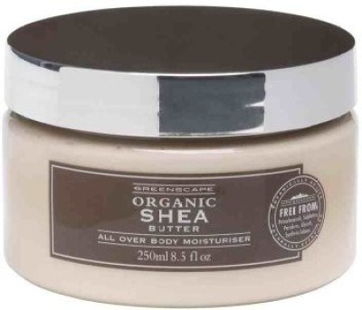 Greenscape Organic SHEA BUTTER Natural All Over Body Moisturiser