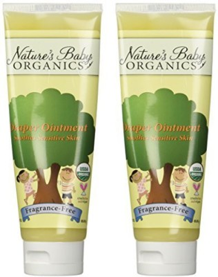 Nature's Baby Organics Organic Diaper Ointment Cream, Fragrance Free - Tube