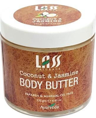 Lass Naturals Coconut & Jasmine Body Butter