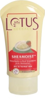 Lotus Sheamoist Shea Butter & Real Strawberry 24hr Moisturizer