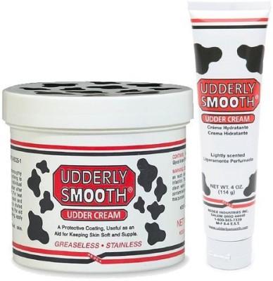 Udderly Smooth duo pack: udder body cream 12oz + udder cream 4oz