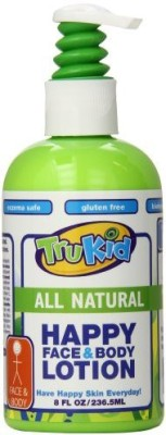 TruKid Happy Face and Body Moisturizing Lotion