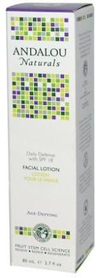 Andalou Naturals Daily Defense with SPF 18 Age-Defying Facial Lotion -