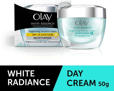 Olay White Radiance Advanced Whitening Brightening Intensive Cream Moisturiser SPF 24 PA ++