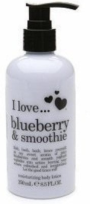 I Love Love I love... Moisturizing Body Lotion Blueberry & Smoothie 25o ml/