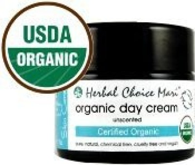 Herbal Choice Mari Organic Day Cream Unscented / 1.7 Jar