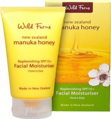 Wild Ferns Manuka Honey Replenishing SPF 15+ Facial Moisturiser