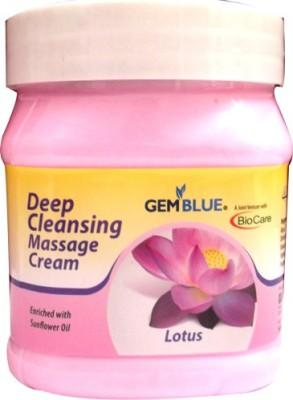 Biocare Gemblue Deep Cleansing Lotus Massage Cream(500 ml)