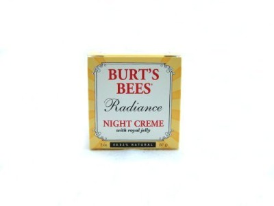 Burts Bees Radiance Night Creme With Royal Jelly , - Jars (Pack of )