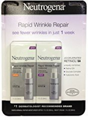 Neutrogena Rapid Wrinkle Repair Combo Pack, Day and Night Moisturizer (total net wt: )