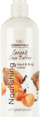 Essentials M&S Coca & Shea Butter Nourishing Hand & Body Lotion