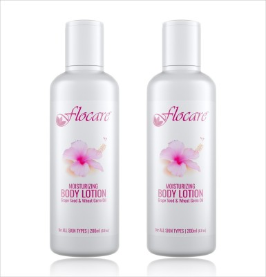 Flocare Moisturizing Body Lotion (Set of 2)